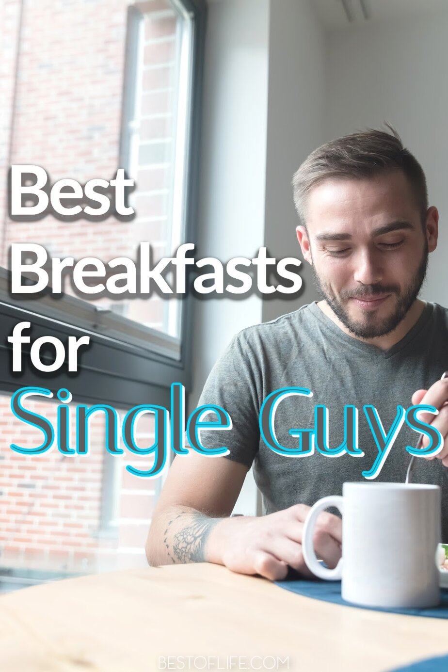 When it comes to being a single guy, breakfast is an afterthought, but that doesn't mean you can't enjoy the best breakfasts for single guys. Healthy Breakfast for Working Man | Manly Breakfast Ideas | Breakfast Ideas for Men | Breakfast Recipes for Men | Tasty Breakfast Ideas | Fitness Breakfast | Healthy Breakfast Ideas | Breakfast Recipes for Guys #breakfast #manly via @thebestoflife
