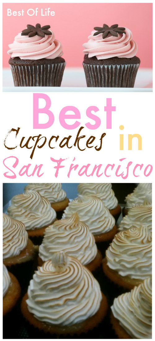 Enjoy every last bite of San Francisco when you visit these bakeries with the best cupcakes in San Francisco. Where to Eat in San Francisco   San Francisco Travel Tips   Things to do in San Francisco #sanfrancisco #cupcakes via @thebestoflife