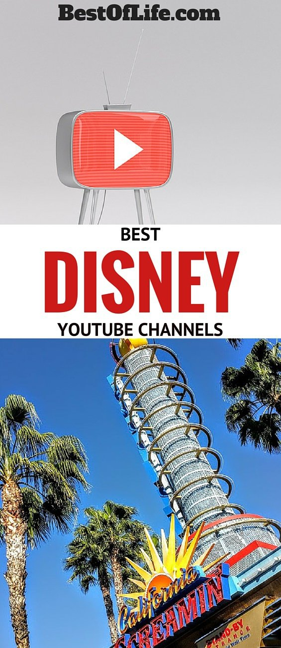 """Need some of the best Disney YouTube channels to get your """"intertainment"""" fix?  The struggle is real but we are here to help. Where to Watch Disney Update 