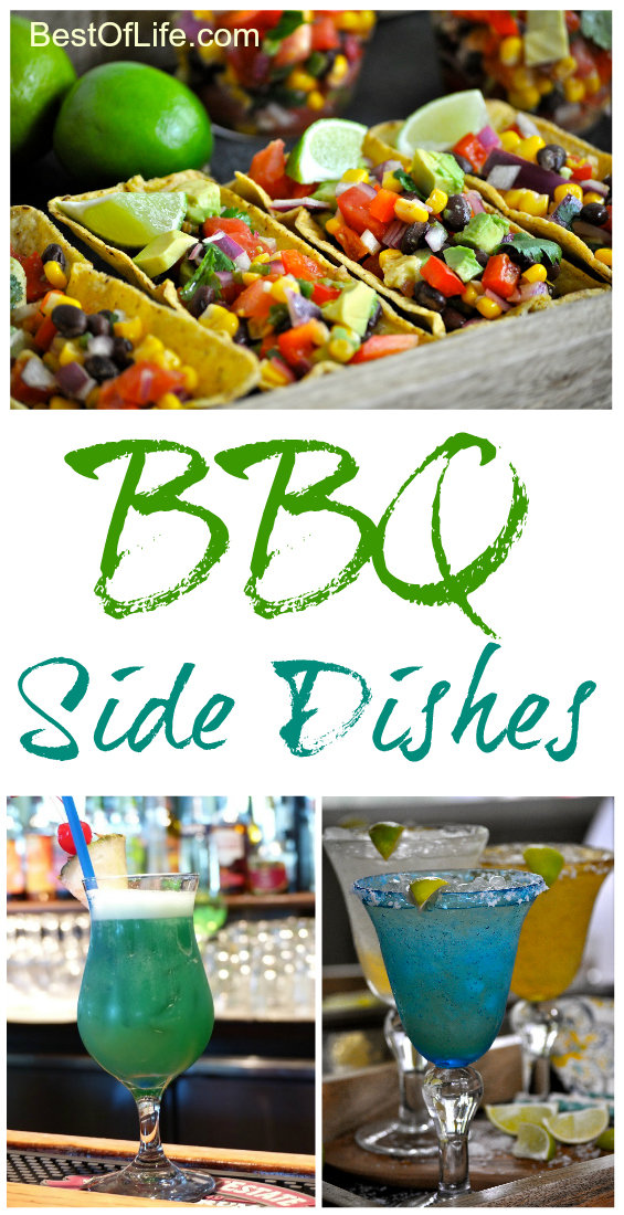 So you've got the grill fired up, the meat smoking, and the drinks iced, now how about some of the best side dishes for a BBQ? BBQ Recipes | Recipes for Outdoor Parties | Recipes for Summer Parties #bbq #recipes #sidedish #summer via @thebestoflife