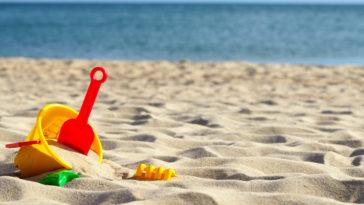 Toys sea sand - Summer Bucket List Items