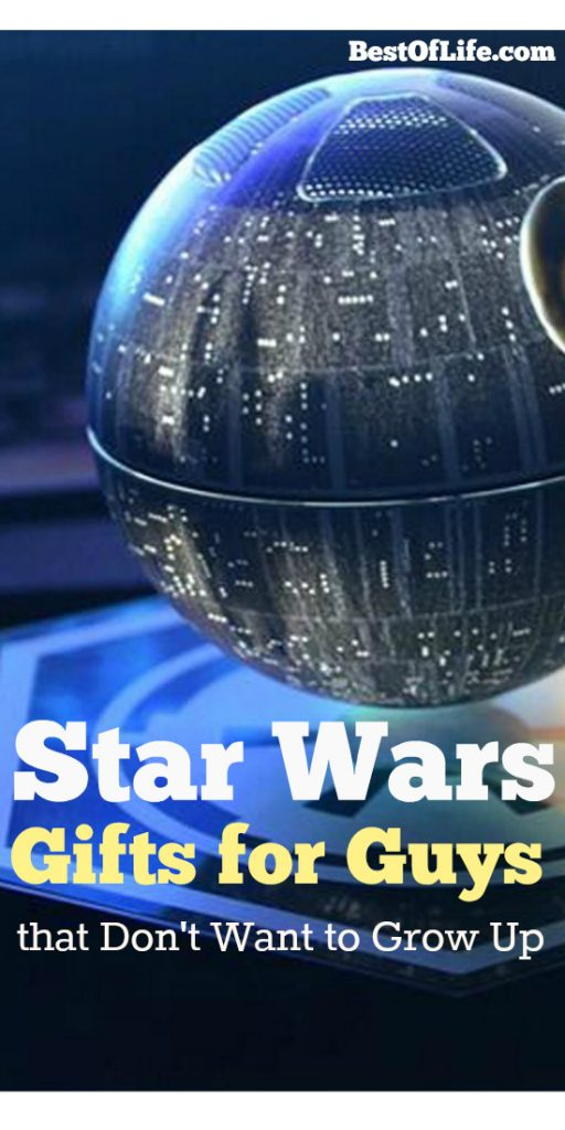 Star Wars fans span the ages for sure. From a toddler to older guys like me we all welcome these best Star Wars gifts. Star Wars Merch | Star Wars Toys | Star Wars Collectibles #starwars #giftguide #gifts