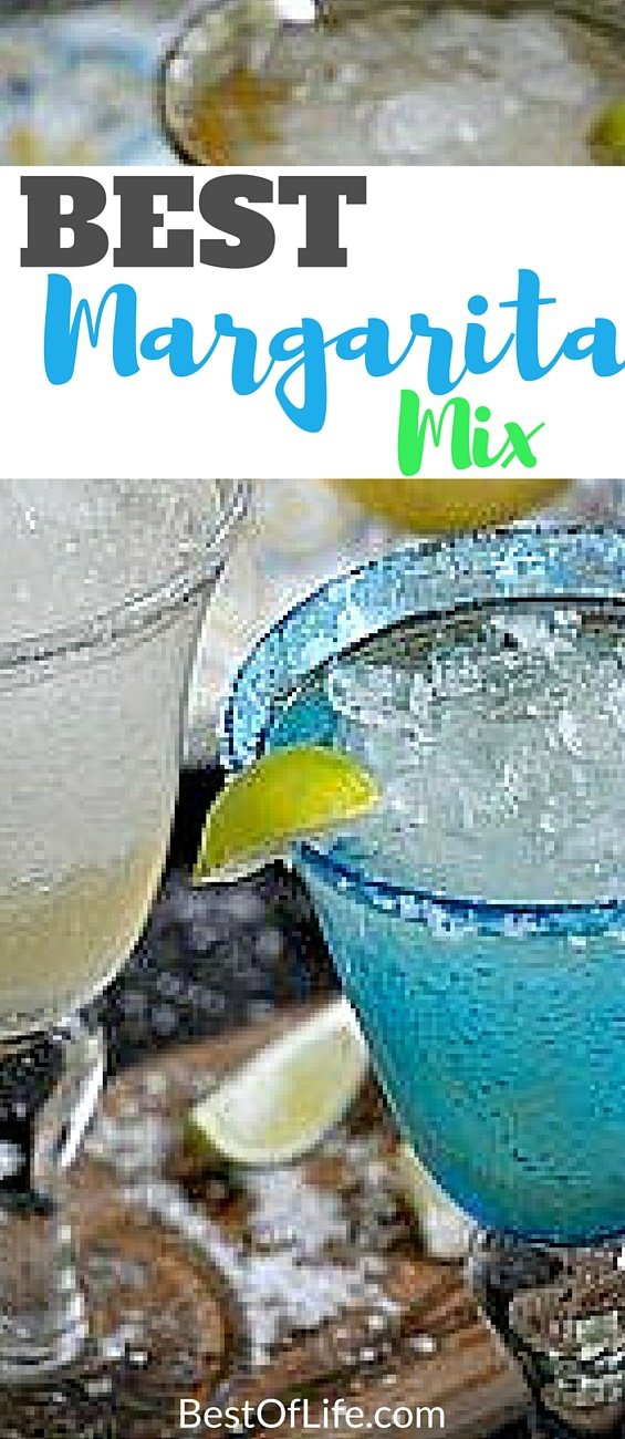Who wants to spend a half hour squeezing fresh limes and get enough juice for two drinks? With this best margarita mix you don't have to sacrifice a thing! Margarita Recipes | Easy Margarita Recipe | Easy Margarita Mix | Cocktails #margarita via @thebestoflife