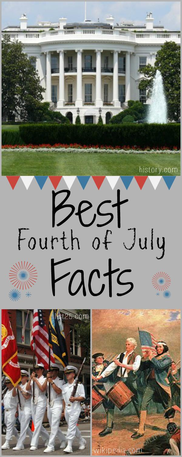 The Fourth of July, as you already know, is Independence Day in the USA. Here are some Fourth of July facts that you might not know! US History Facts | Things to Know About Fourth of July | History of the Fourth of July #fourthofjuly #history #facts #USA via @thebestoflife