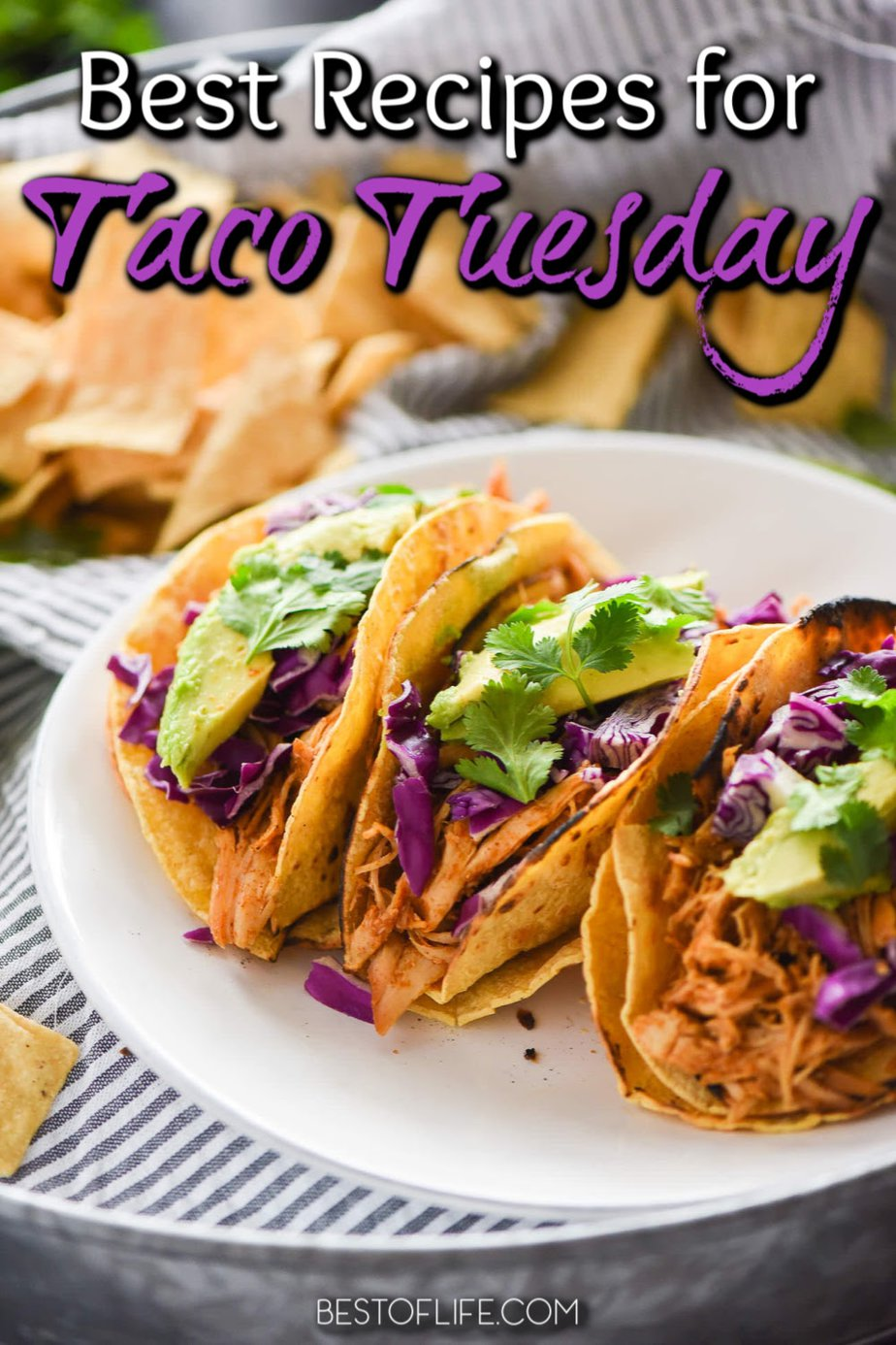 Mondays are rough. Tuesdays are better. Celebrate that every week with the best Taco Tuesday recipes. Easy Taco Recipes | Easy Margarita Recipes | Dinner Recipes | Cocktail Recipes #tacotuesday #recipes #margaritas