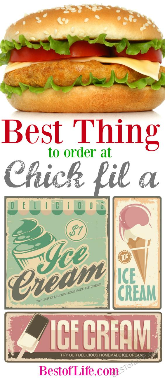 Just what is the best thing to get at Chick fil A? Here are our recommendations for each foodie age group, those who want healthy menu items at Chick fil A, and for those who love their grease. Best Fast Food | Dining Out Tips | Chick fil A Menu #chickfila #food #fastfood via @thebestoflife