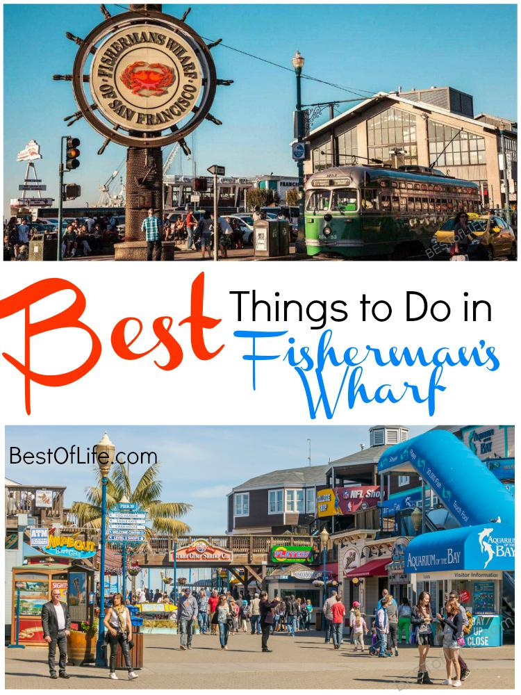 Some of the best things to do in Fisherman's Wharf attract tourists from all over for many different reasons. What attracts you? Things to do in San Francisco | What is Fisherman's Wharf | San Francisco Travel Tips #sanfrancisco #travel #fishermanswharf via @thebestoflife