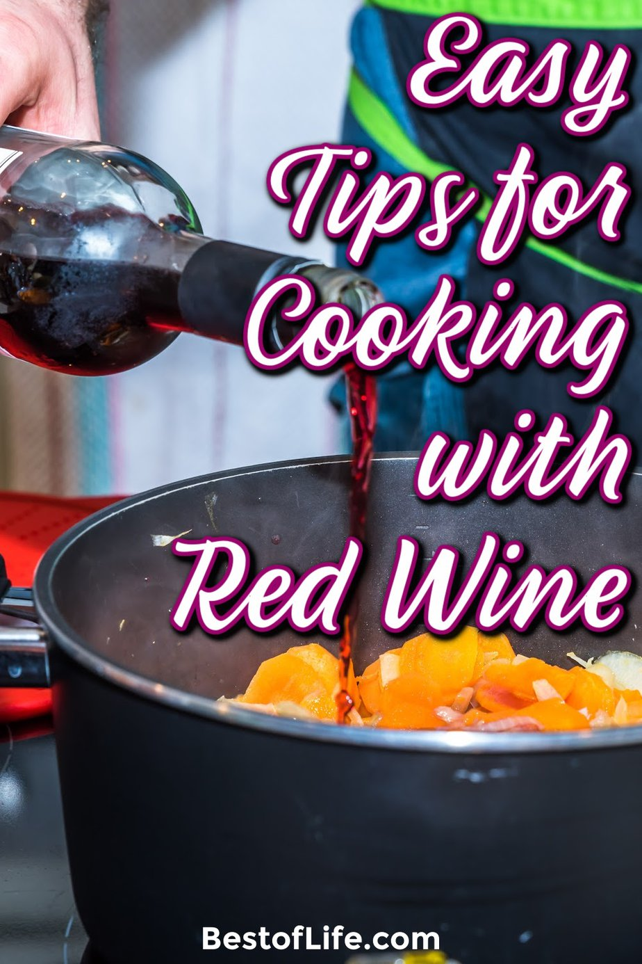 Cooking with wine is a great way to impress others with your cooking skills, so get started today with some of the best tips for cooking with wine. How to Cook with Wine | Wine Recipes | Cooking Tips #wine #recipes via @thebestoflife
