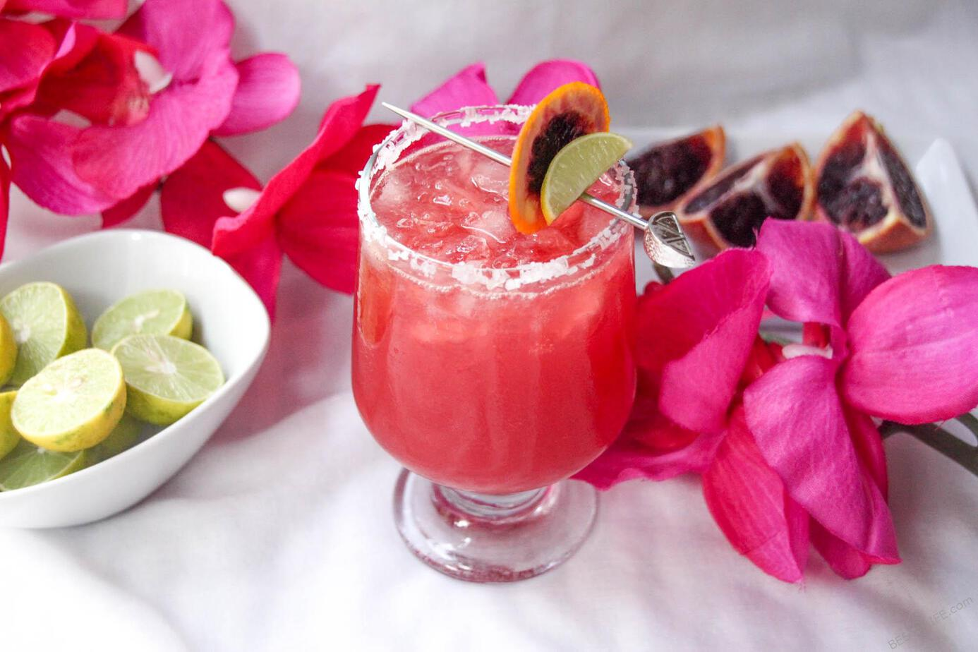 Blood Orange Margarita Best Taco Tuesday Recipes