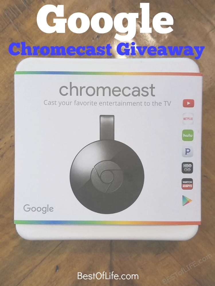 There are so many products that make life even better and at Best of Life we are celebrating by giving one of them away to readers with a Google Chromecast giveaway.