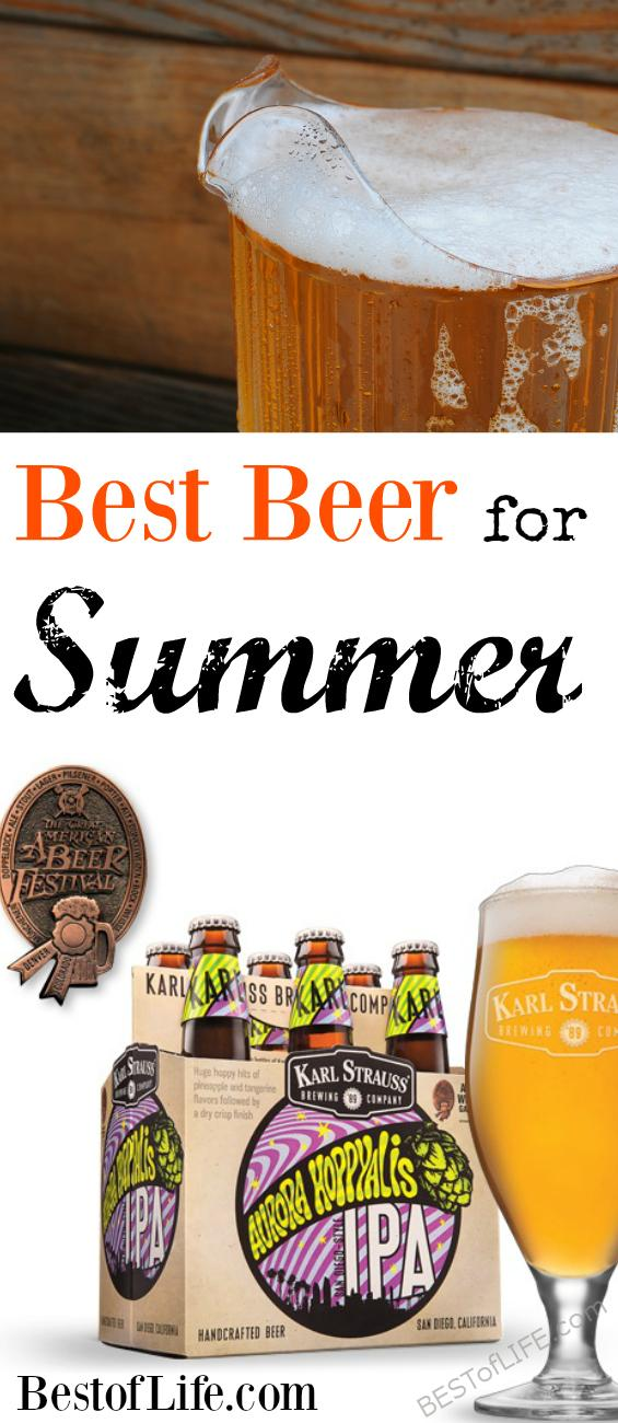 Aurora Hoppyalis has done just that, cemented itself as one the most refreshing and drinkable IPA's in the market today - a perfect combo for the best beer for summer. Summer Beers | Best IPAs Summer Cocktails | Beer Drinking Tips | Happy Hour #beer #ipa via @thebestoflife