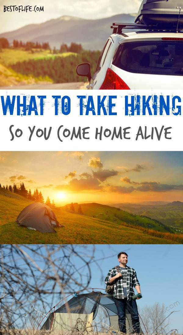 The goals of hiking are health, seeing sights, and getting home alive, so make sure you know the best things to take hiking so you're prepared. Hiking Packing List | Travel Packing List | Things to do Outside #hiking #travel #packinglist via @thebestoflife