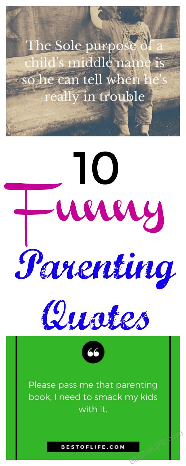Being a parent, you will surely appreciate these funny parenting quotes! Even if you love your children as much as possible, we all can relate. Quotes to Make You Laugh | Best Funny Quotes | Best Quotes about Parenting | Best Funny Quotes #quotes #parenting #funny via @thebestoflife