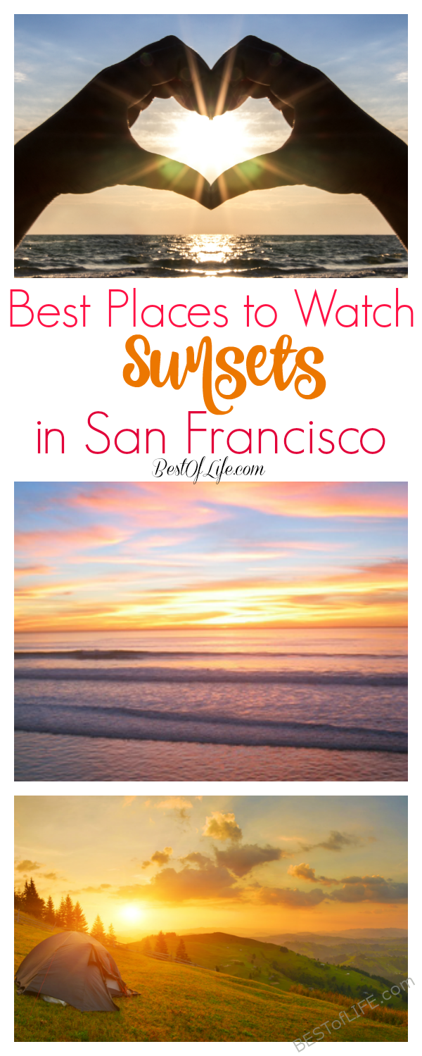 The coast of California is home to beautiful sunsets! Know the best places to watch the sunset in San Francisco so you can make the most of your time in the city. San Francisco Travel Tips | Where to Watch the Sunset in the Bay Area | California Travel Tips | Bay Area Travel Tips | Things to Do in San Francisco #sanfrancisco #bayarea #sunsets #travel