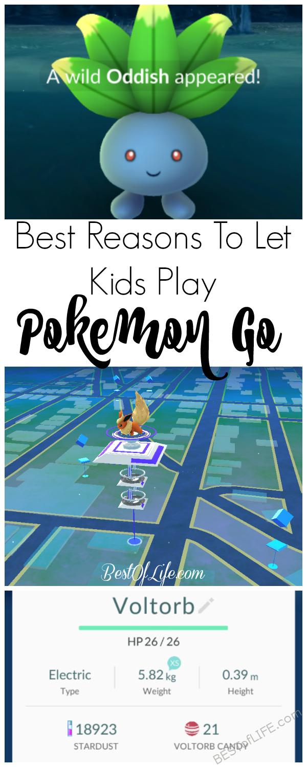 Pokemon Go got a lot of press - both good and bad. However, there are plenty of good reasons to let kids play Pokemon Go! Should I Let My Kids Play Pokemon Go | Why Let Kids Play Pokemon Go | Is Pokemon Go Dangerous to Play #pokemongo #parenting #games #family #safety