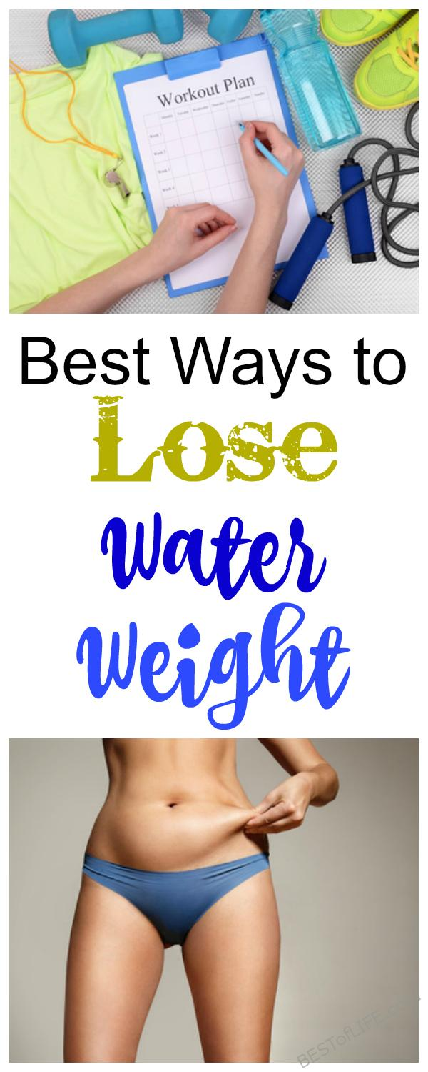 The best ways to lose water weight will help you shed those annoying pounds that keep you from feeling and looking your best. How to Lose Weight | What is Water Weight | Weight Loss Tips | Easy Fitness Tips | Healthy Living #weightloss #waterweight #health #healthtips