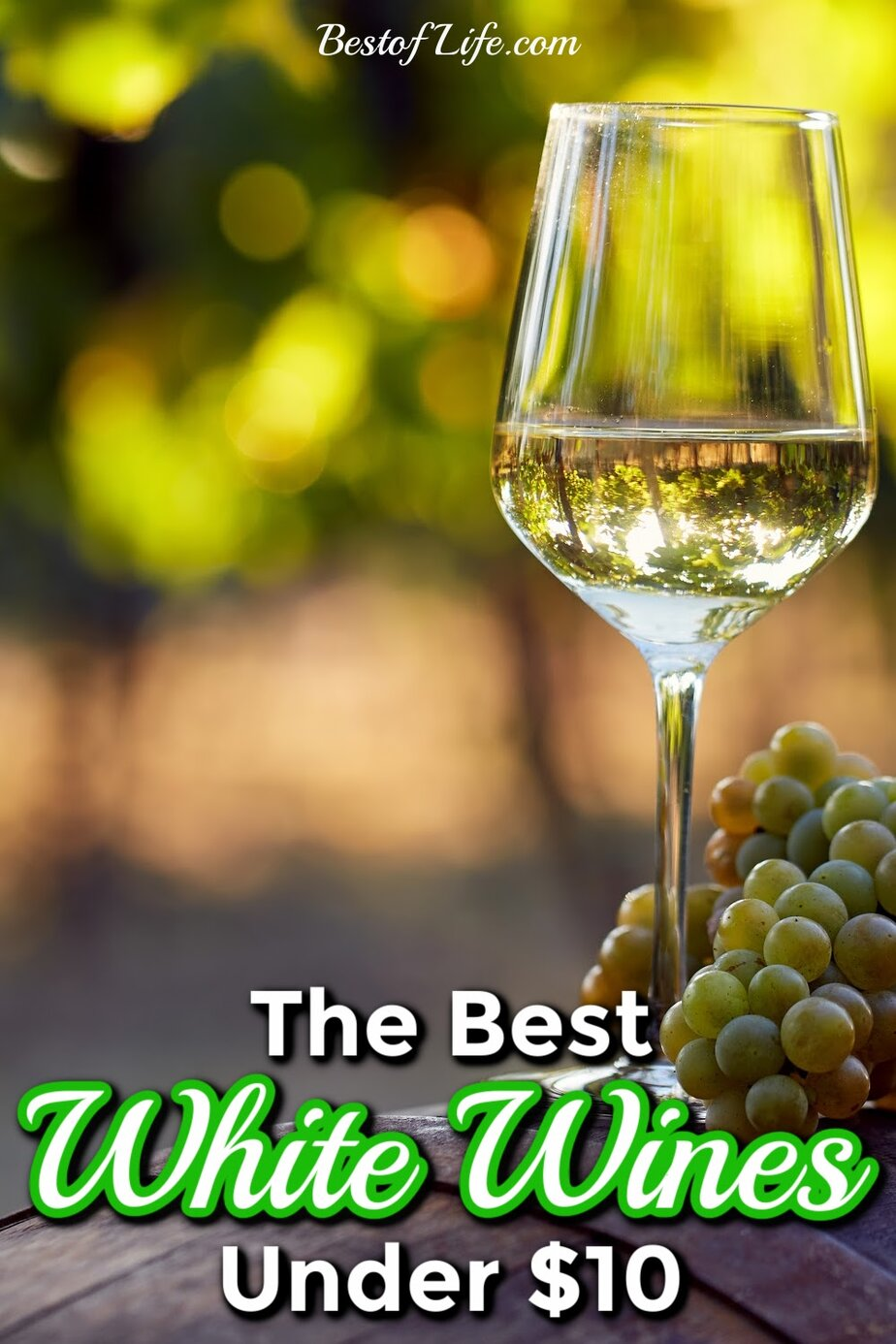 Grab some of the best white wines under 10 dollars for your next date night, happy hour with friends, or a night in alone. Best Affordable White Wines | White Wines | Wine Down #wine #winetips #winedown #whino via @thebestoflife