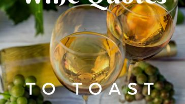 After you pour a glass of wine with friends and family you need something witty to say, why not use one of the best wine toast quotes to get you through?