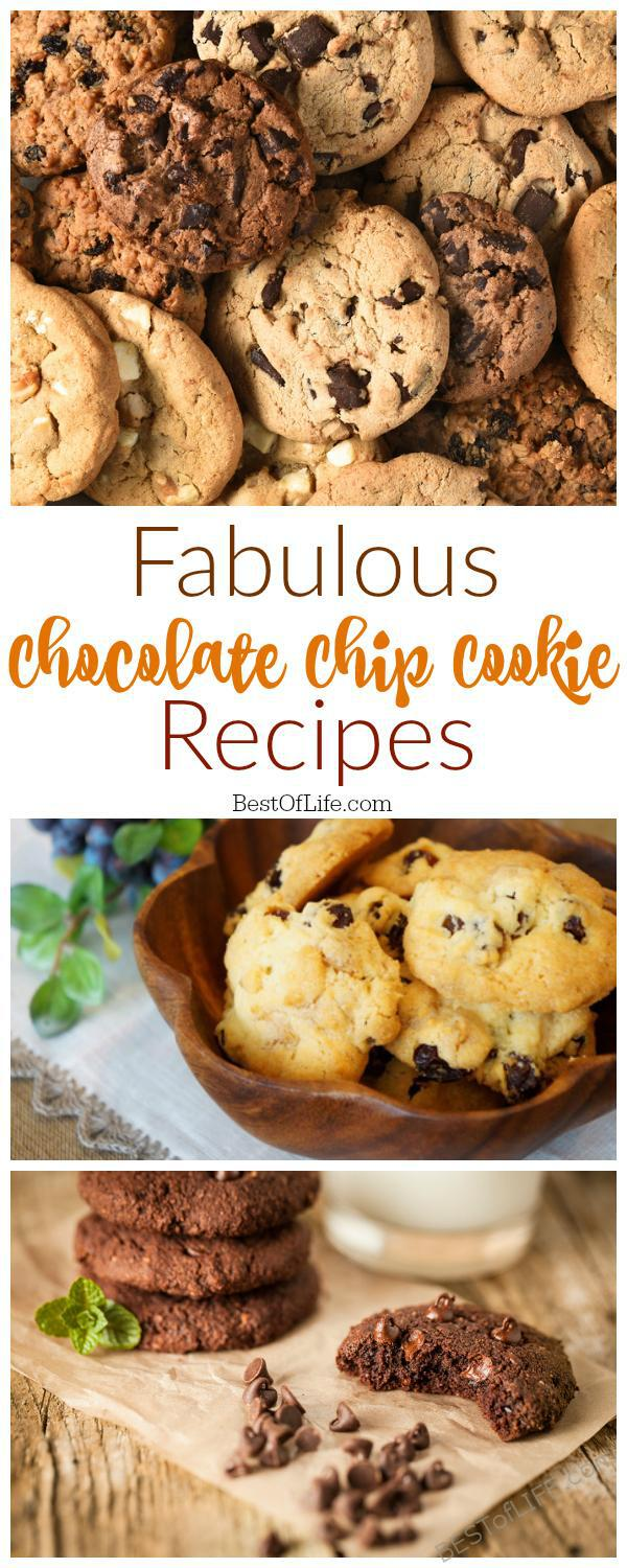 Looking for the best chocolate chip cookie recipes can be difficult, but it's not impossible. Luckily you find the best one by trying them all!