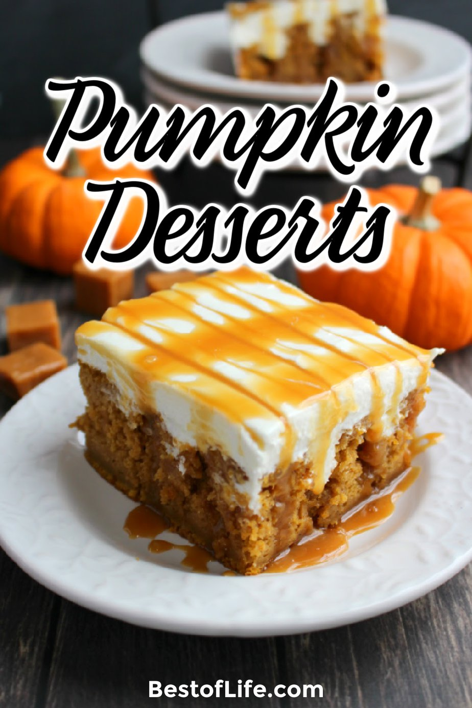 Nothing says fall like pumpkin! Enjoy these delicious pumpkin dessert recipes in fall and for Thanksgiving! Fall Recipes | Pumpkin Seed Recipes | Dessert Recipes | Easy Fall Recipes | Recipes with Pumpkin | Fall Dessert Recipes | Halloween Party Recipes | Thanksgiving Dessert Recipes | Recipes for Thanksgiving | Recipes for Halloween #halloween #thanksgiving #fallrecipes via @thebestoflife