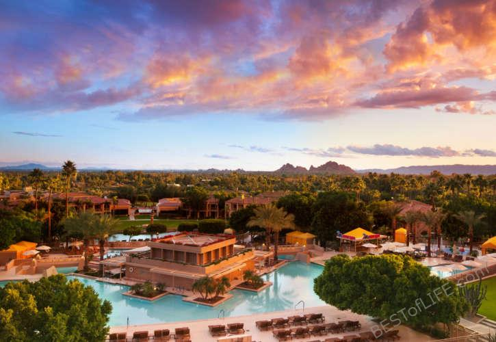 The Phoenician Best Hotels in Phoenix with Pools