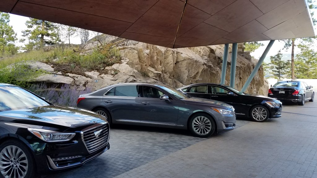 The Genesis G90 is where Genesis defines itself as a luxury car; you won't find many options, instead, nearly everything you can think of is included standard!