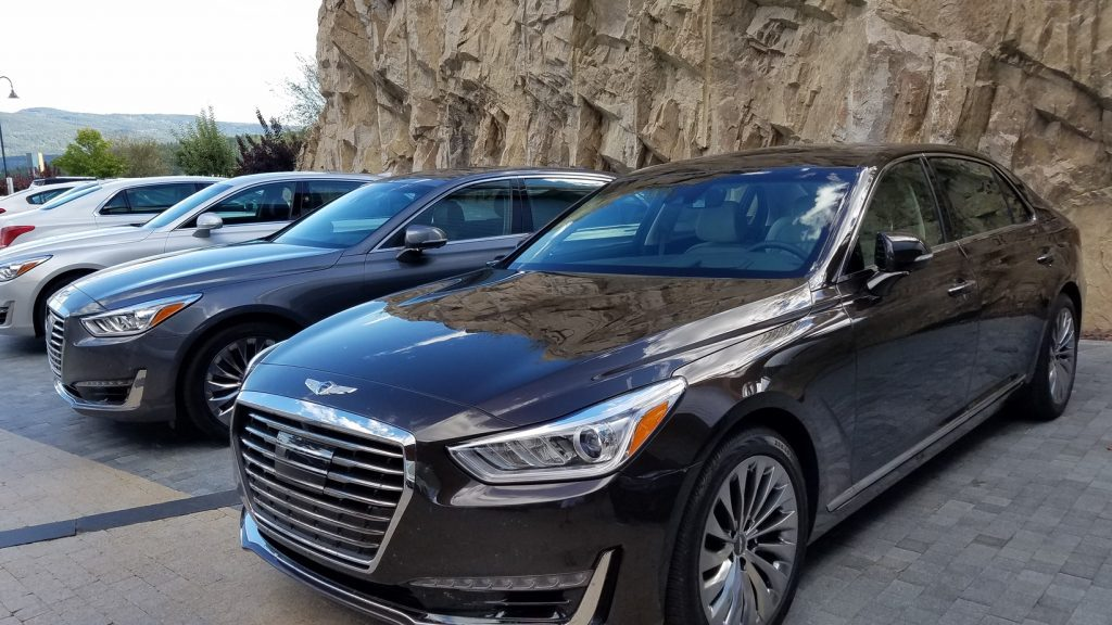 The Genesis G90 is where Genesis defines itself as a luxury car; you won't find many options, instead nearly everything you can think of is included standard!