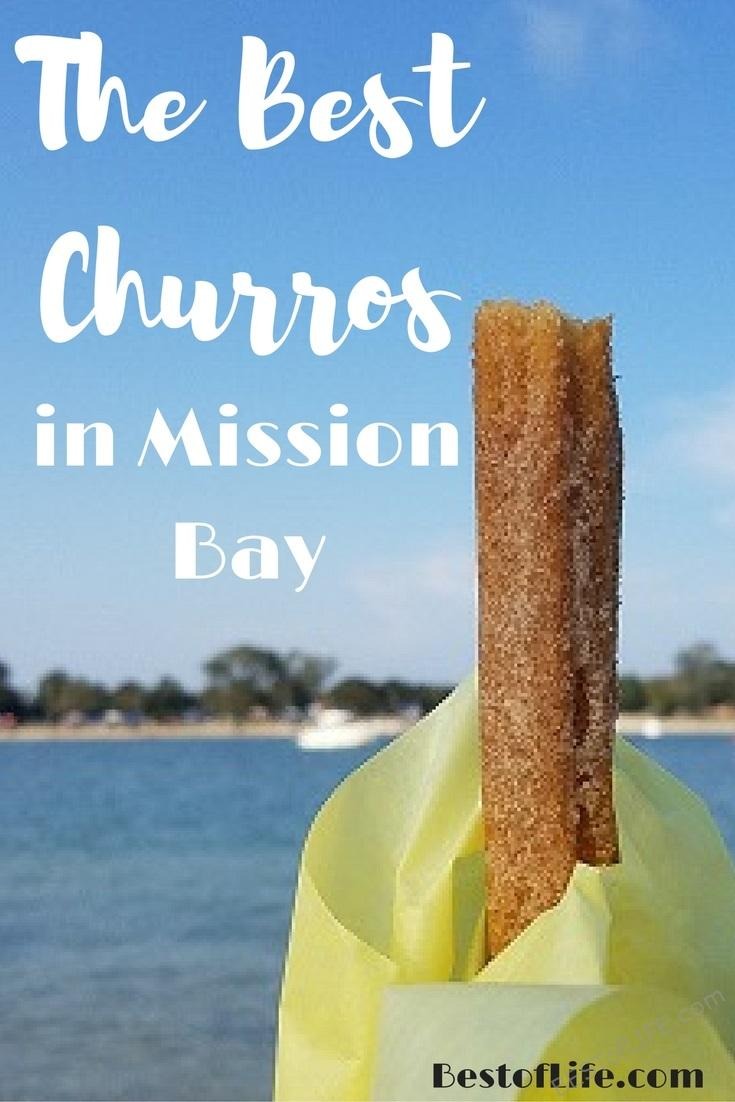 I love churros from just about anywhere but if I'm looking for the best churros in Mission Bay or even in San Diego, I only go to one place.