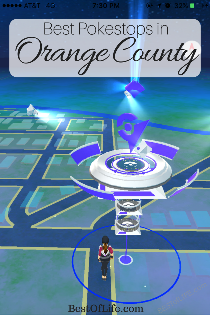 There are plenty of Pokestops scattered all over the country. These are the best Pokestops in Orange County, collect supplies, catch Pokemon, and have fun! #pokemongo #pokemon #orangecounty | Best Places to Play Pokemon Go in Orange County | Best Pokestops in Orange County | Where to Play Pokemon Go in Orange County  via @thebestoflife