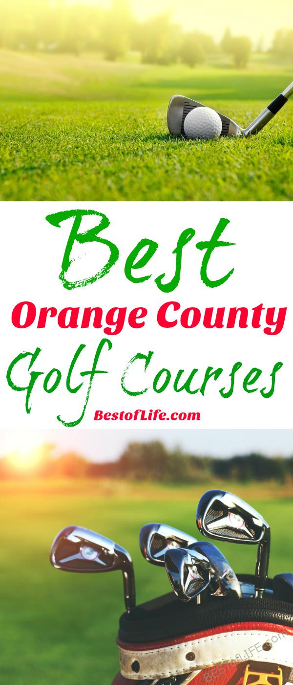 California is home to many amazing golf courses in stunning locations. Make the most of your game at the best golf courses in Orange County!