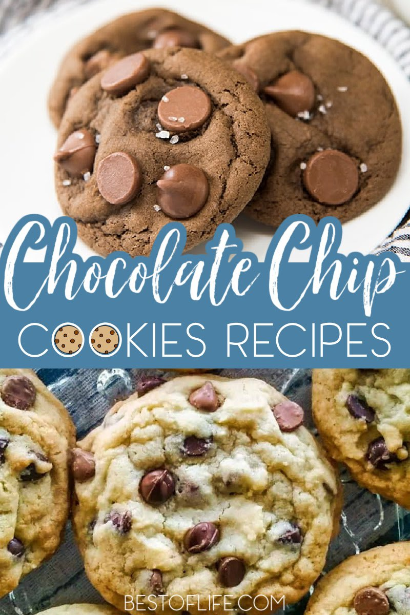 Finding the best chocolate chip cookie recipes can be fun! Here are some easy and delicious recipes that will make taste testing fun! Dessert Recipes | Easy Cookie Recipes | Best Cookie Recipes | Salted Caramel Chocolate Chip Cookies | How to Make Chocolate Chip Cookies from Scratch | Homemade Cookies Recipes | Party Snack Recipes | Party Dessert Recipes #cookierecipes #Desserts via @thebestoflife