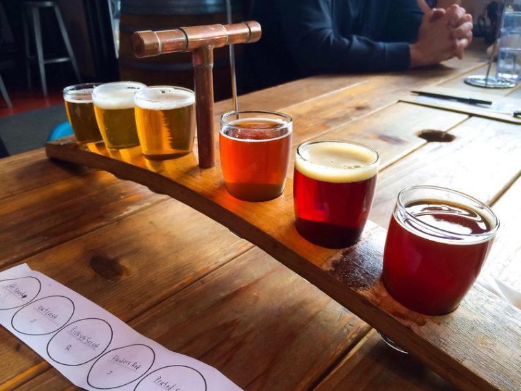 "There are currently more than 100 San Diego Breweries; being home to such a robust craft beer scene is what earned San Diego the title of ""Beer Mecca""!"