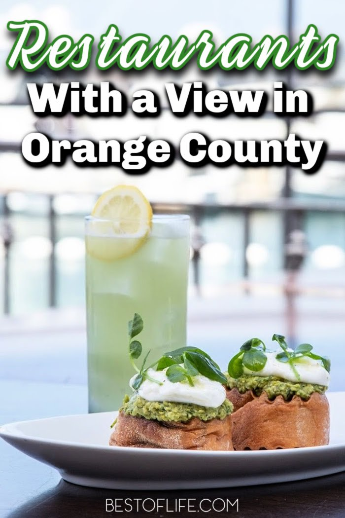 Mother Nature puts on a show for us daily. These are the best restaurants with a view in Orange County; make a reservation today and have a front row seat! Best Restaurants in Orange County | Orange County California Restaurants | Cute Restaurants in Orange County | Newport beach Restaurants Orange County | Top Restaurants in Orange County | Views in SoCal | Southern California Views #orangecounty #restaurants via @thebestoflife
