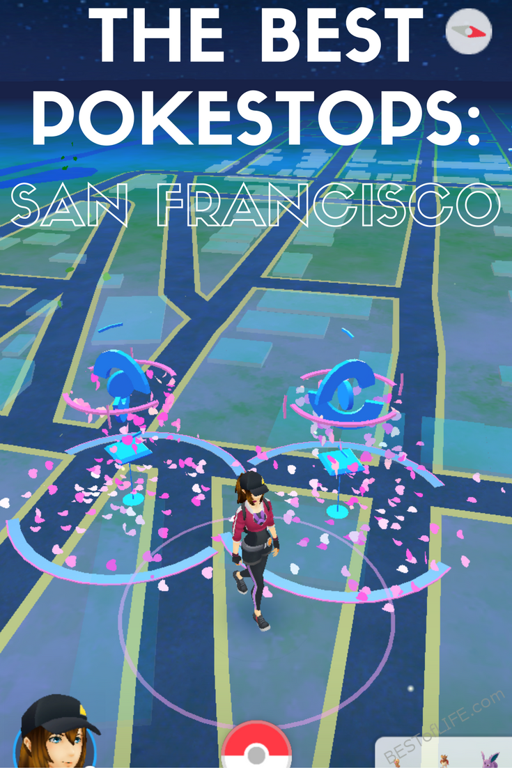 The best Pokestops in San Francisco are scattered throughout the city and since Niantic labs lives in San Francisco, so do many popular Pokestops.