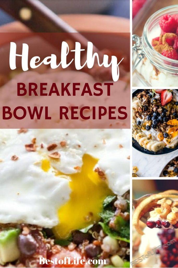 Start your day with an easy and healthy breakfast that will keep you energized with these best breakfast bowl recipes. #healthybreakfast #healthyrecipes #healthymeal #breakfast #breakfastrecipes #bestbreakfast #recipes