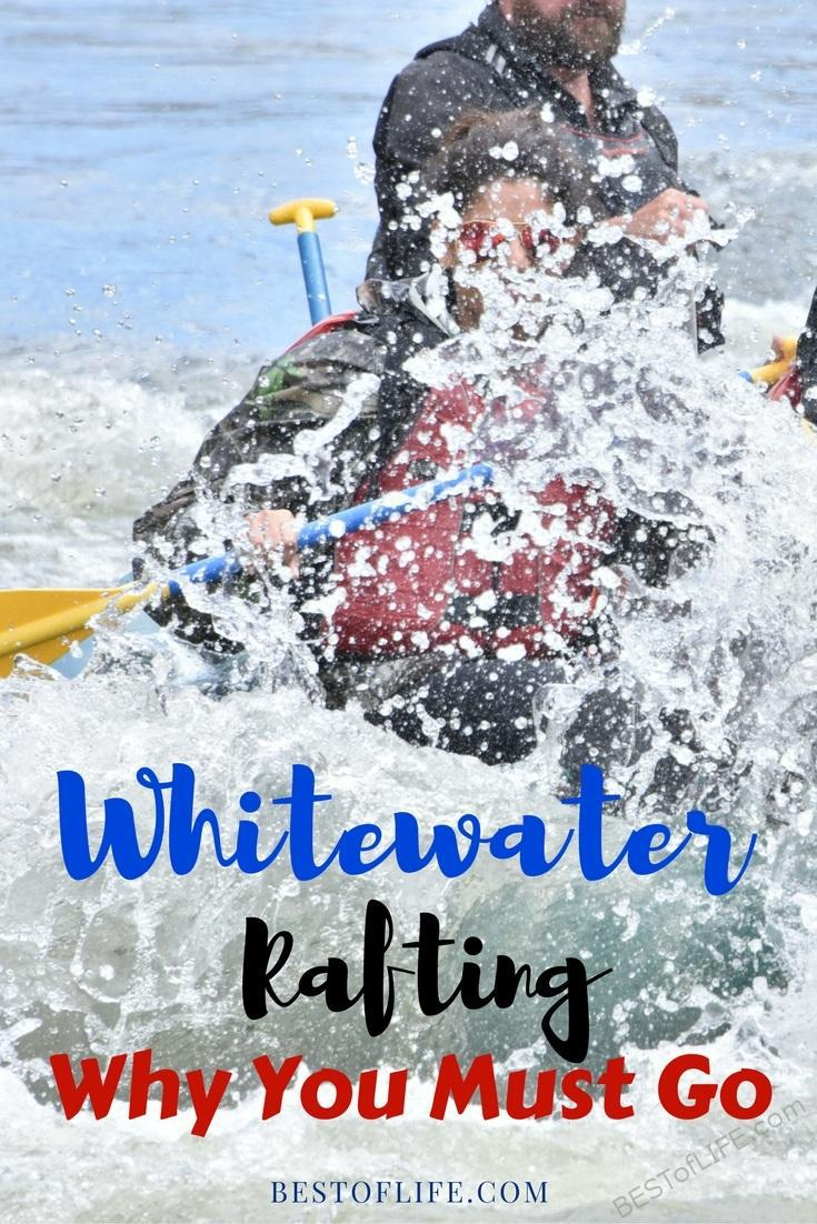 There are many reasons to get off your butt and experience whitewater rafting on your next vacation when traveling. White Water Rafting Colorado | Water Rafting Tennessee | Grand Canyon Activities | Things to do in Summer | Travel Tips | White Water Rafting Outfit Women | Things to do in Spring | Best Spring Activities #travel #whitewaterrafting via @thebestoflife