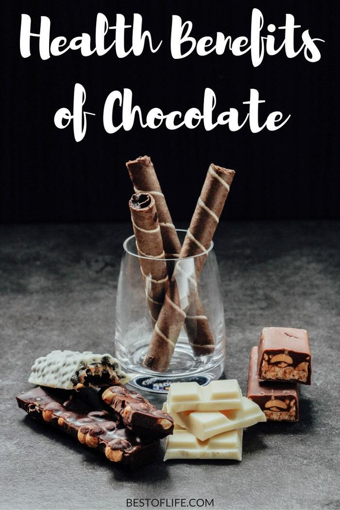 By knowing the health benefits of chocolate you can enjoy sweets in combination with a healthy lifestyle. Everything in moderation, right? #chocolate #health #healthtips #healthyliving #healthylifestyle #nutrition #nutritiontips via @thebestoflife