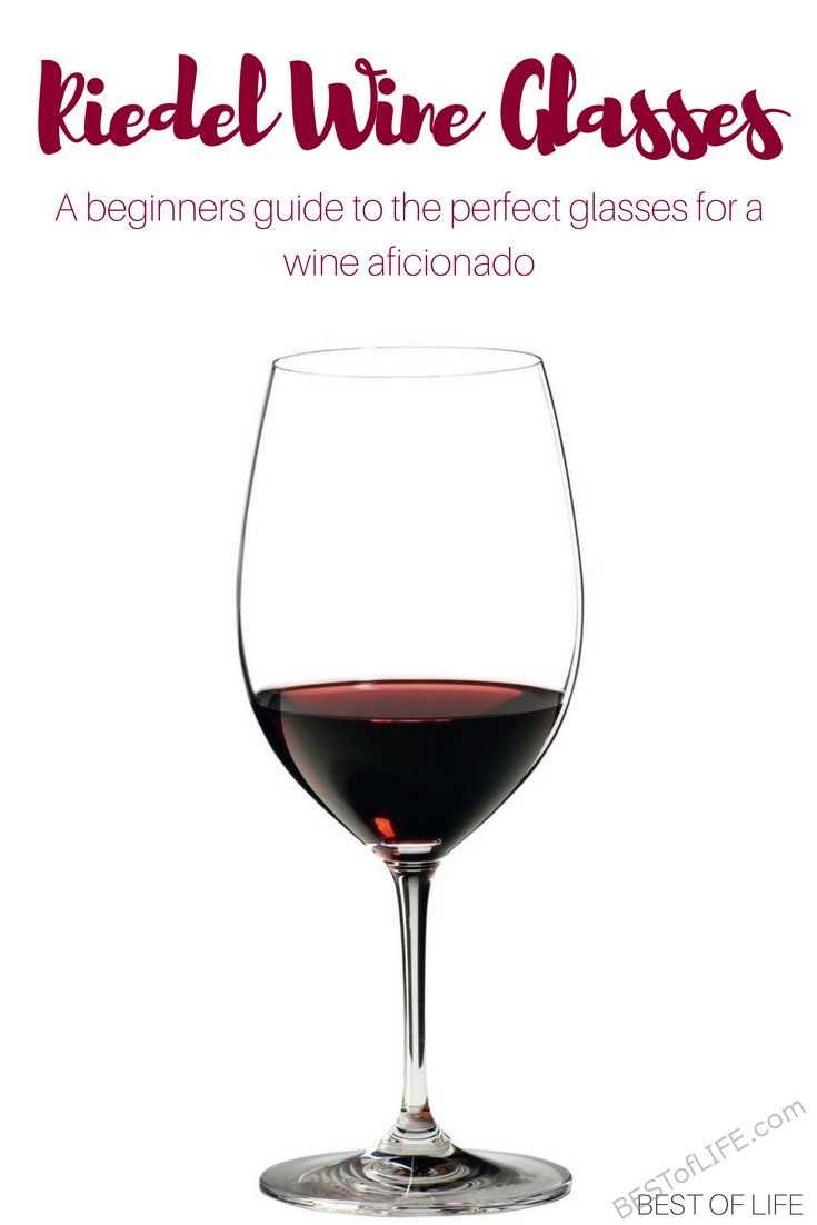 If you want to become a wine aficionado, then you should know that wine glasses help each type of wine, and the best of the best is Riedel Wine Glasses.