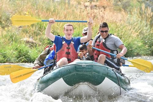 Whitewater rafting is something we should all add to our bucket list! From the adrenaline fix to adventure there is a lot to enjoy about it. #whitewaterrafting #rafting #utah #travel #thingstodo #adventure #river #traveltips