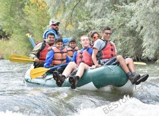 Whitewater Rafting Riding The Bull