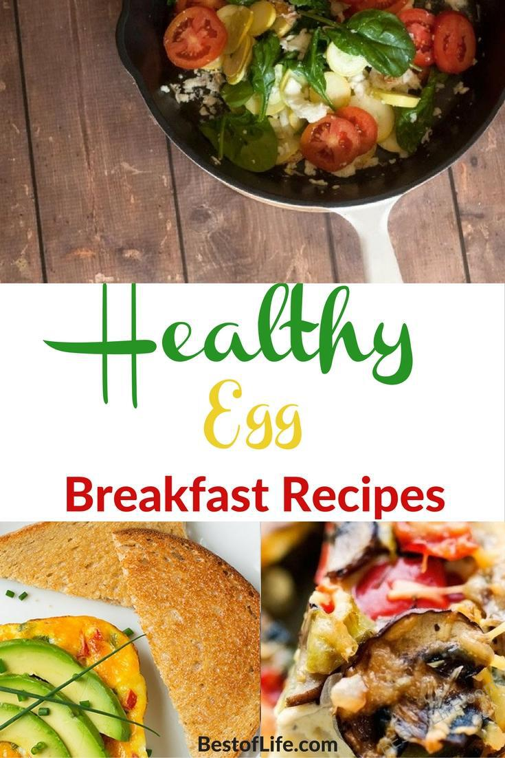 Healthy egg breakfast recipes will help you ditch the sugary meal and replace them with an easy, filling, and healthy choice.