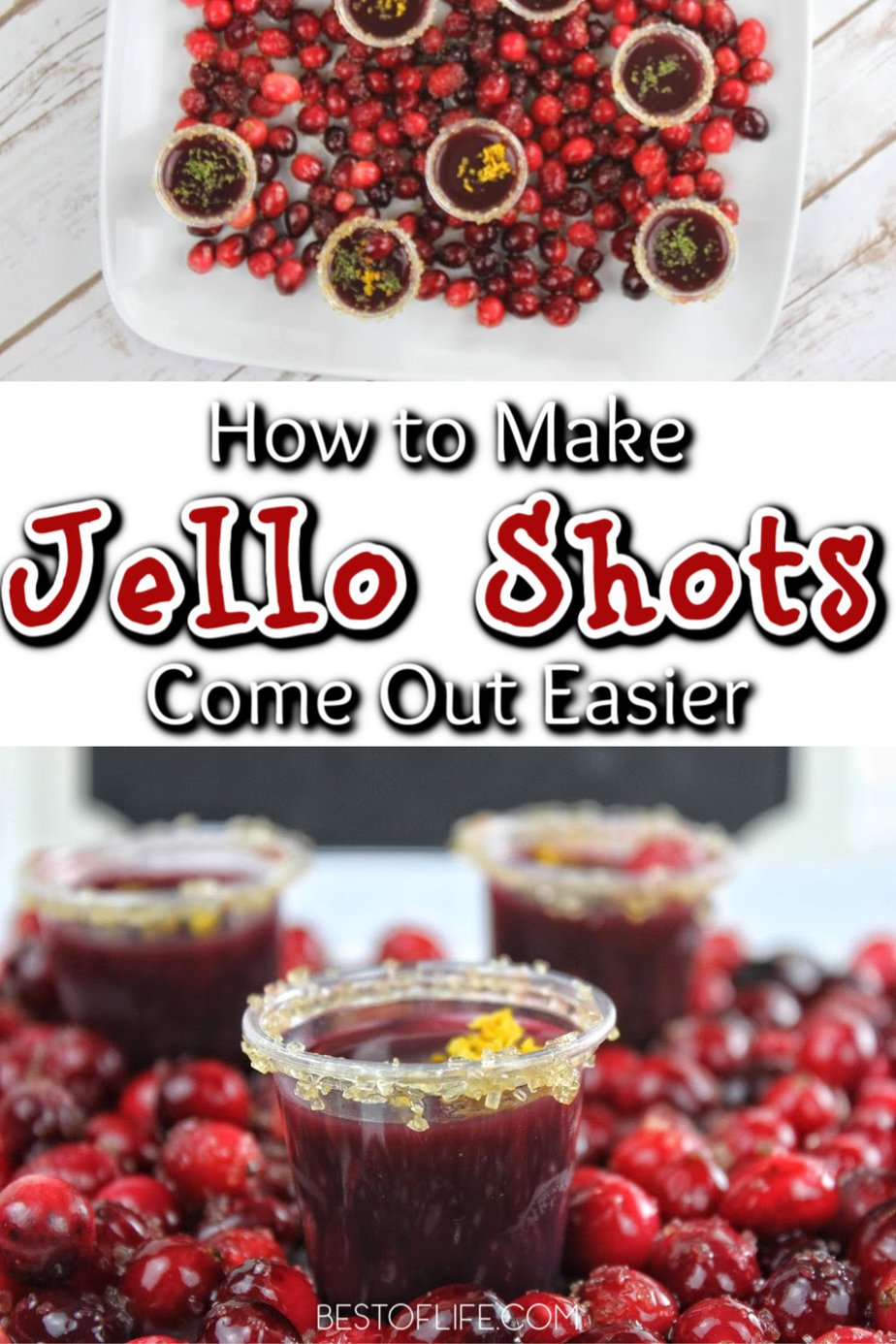 Jello shots are so much fun for parties and when you know how to make jello shots come out easier, you can look like a bartending pro! Tips for Jello Shots | Jello Shots Recipes | Cocktail Recipes | Party Recipes | Happy Hour Recipes #cocktails #recipe