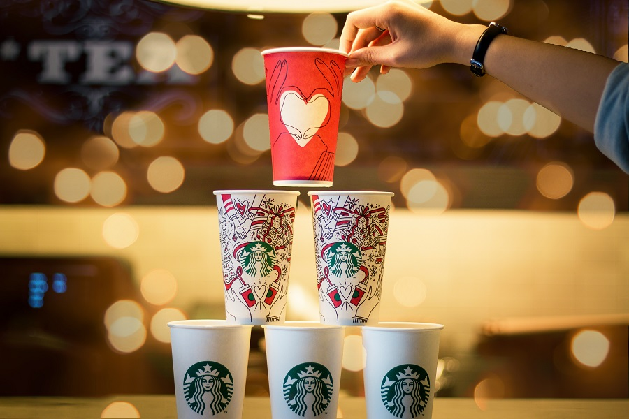 Starbucks Copycat Drink Recipes for Everyone Stack of Starbucks Cups