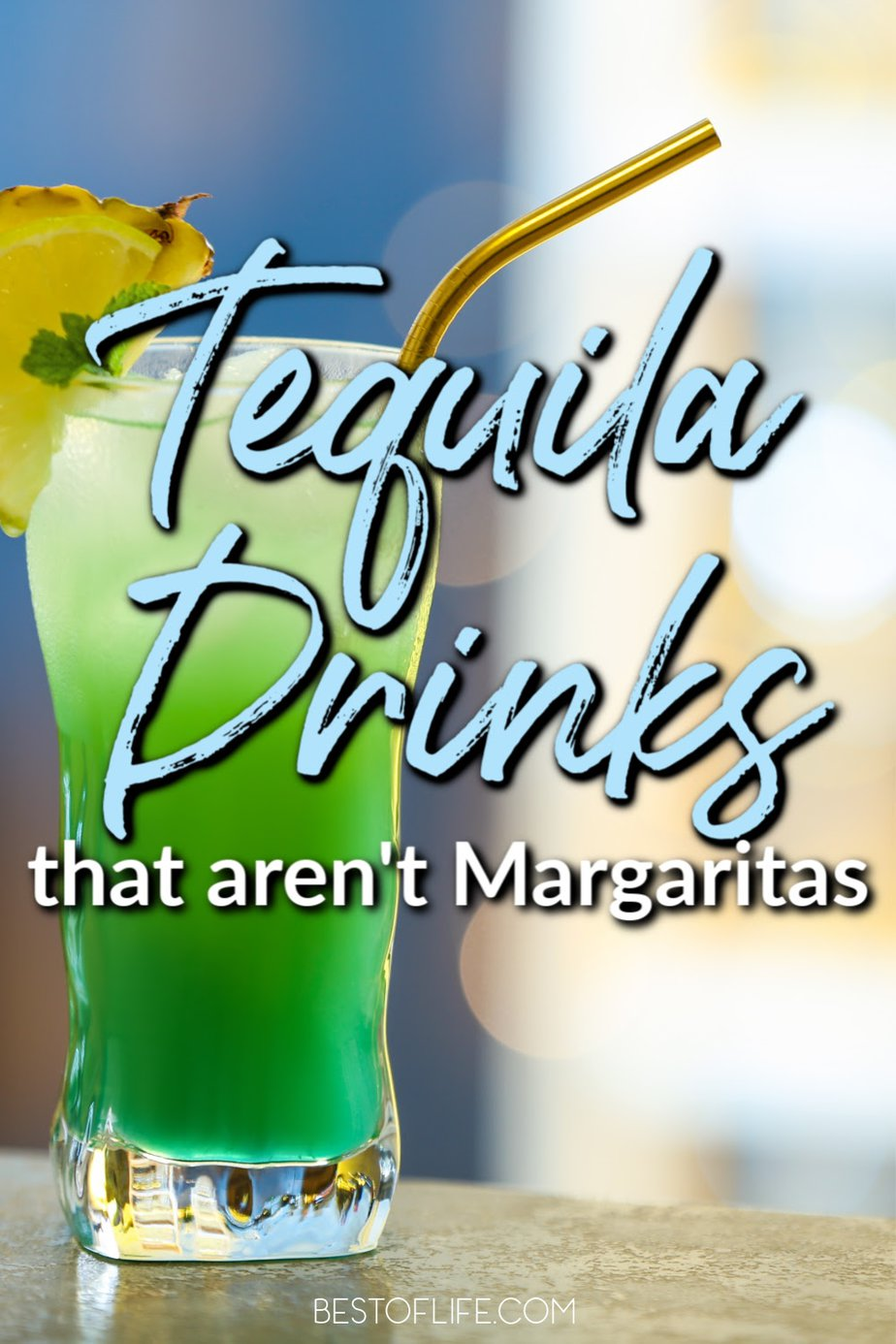 It's no secret we love margaritas, but there is so much more to do with tequila! From fruity drinks to coffees and spiced drinks, these tequila drinks that aren't margaritas are sure to be a favorite. Low Calorie Tequila Drinks | Tequila Cocktails | Tequila Drinks Recipes | Easy Tequila Drinks | Easy Cocktails with Tequila