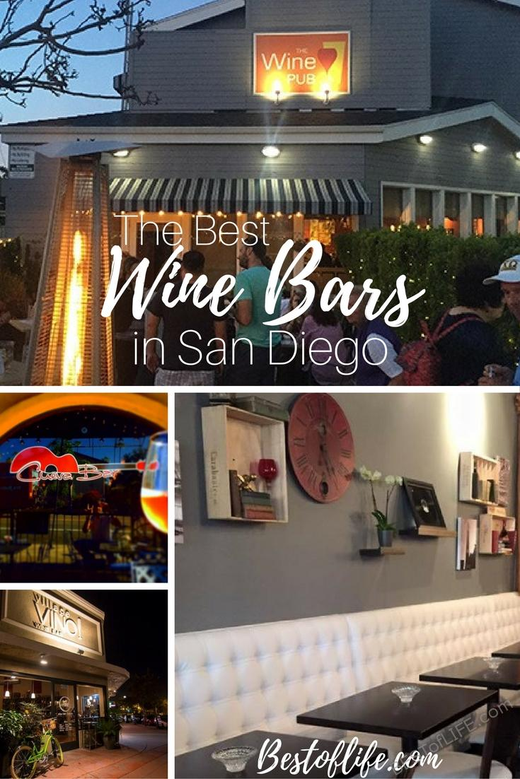 The best wine bars in San Diego are showing locals and tourists alike that San Diego is more than a craft beer mecca. Wine lovers rejoice in San Diego because wine bars in San Diego offer an opportunity to taste amazing California wines and more. In fact, if you're looking for things to do in San Diego, the best one may be to visit the best bar scene in California, San Diego. via @thebestoflife