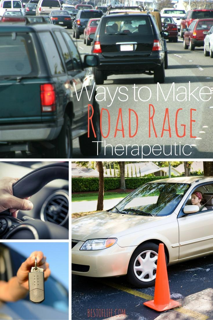 We've all been there, fuming behind the wheel because of traffic, idiot drivers, or life in general. Next time, try making road rage therapeutic!