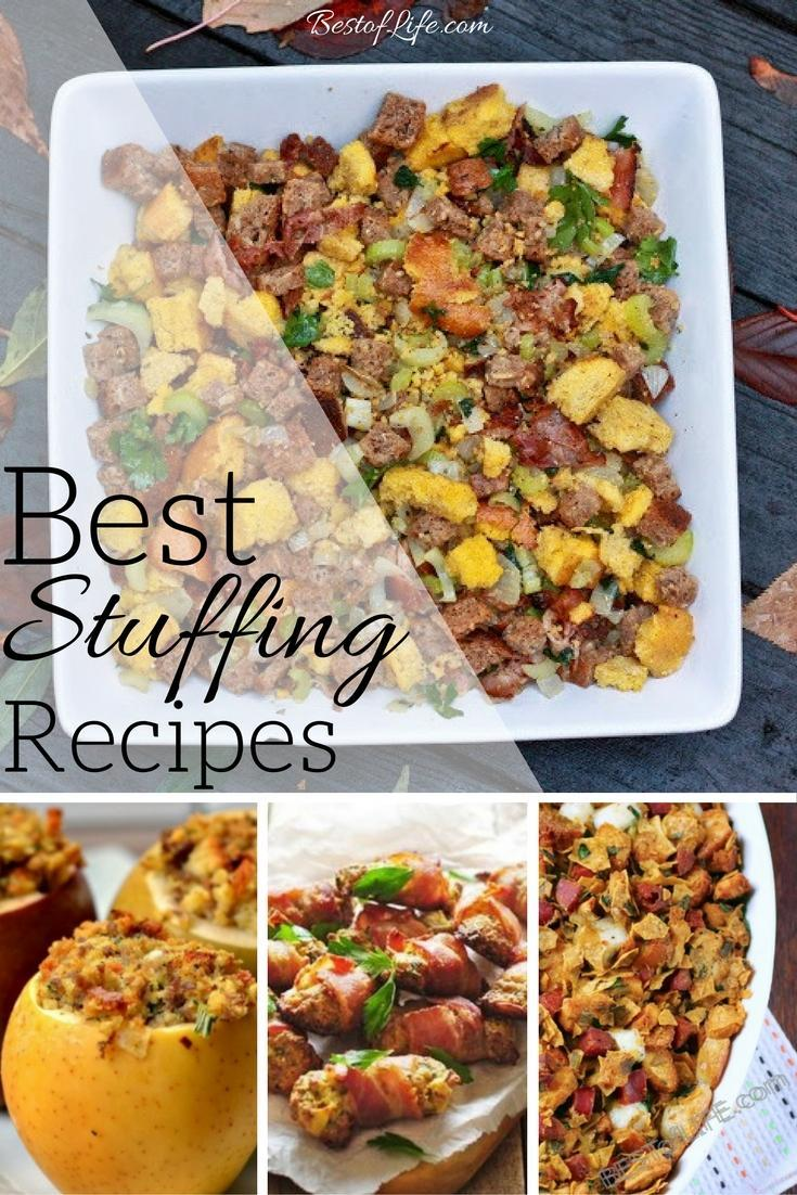The best stuffing recipes can elevate your Thanksgiving meal with ease and will be the reason you overeat on that glorious Thursday. Choose from vegan stuffing recipes, healthy stuffing recipes, or full flavor stuffing recipes to compliment your Thanksgiving meal.