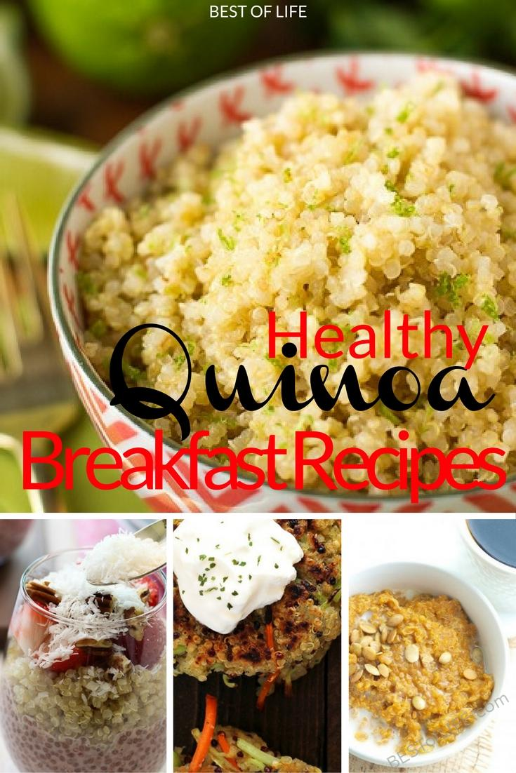 The best quinoa breakfast recipes help introduce you to the exponentially healthy world of quinoa with a burst of flavor that you will want again and again.