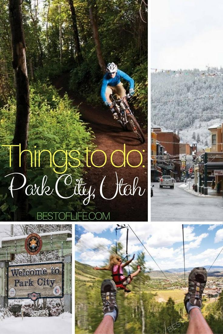 Planning a trip to Salt Lake City is easier with this list of things to do in Park City Utah. From spending time outdoors to enjoying the best restaurants, Park City is filled with so many fun things to do. #ParkCity #Utah #UtahActivities #Travel #TravelTips #FamilyTravel #BestTravel via @thebestoflife