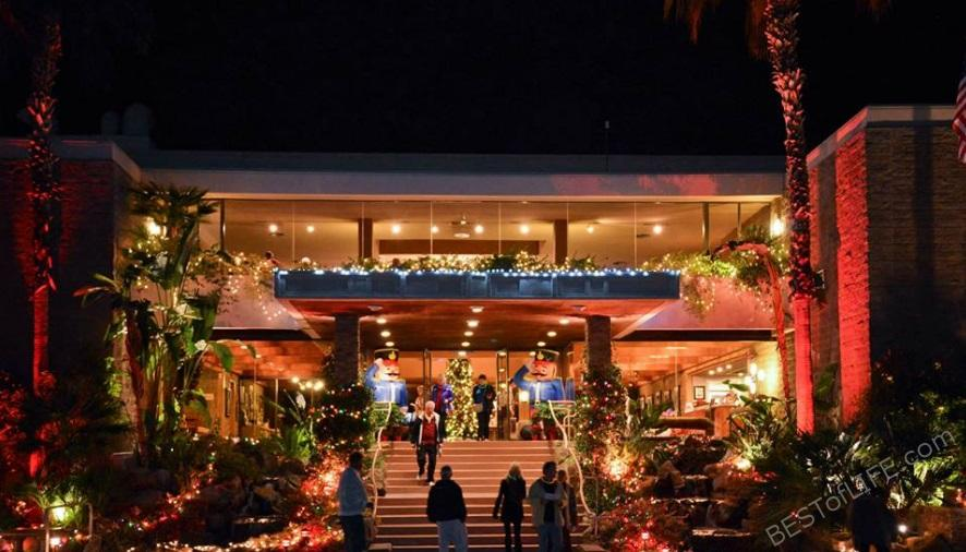 Palm Springs Holiday Events Walk of The Inns